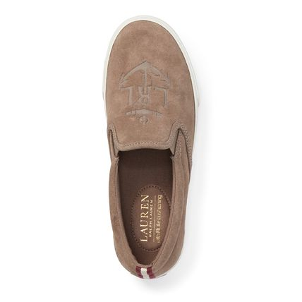 Casual Style Suede Slip-On Shoes