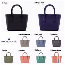 DAGNE DOVER Heart Casual Style Canvas 2WAY Plain Totes