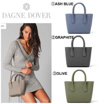 DAGNE DOVER Casual Style Canvas 2WAY Plain Totes