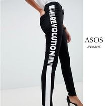 ASOS Casual Style Blended Fabrics Street Style Cotton Long