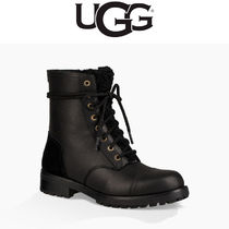 UGG Australia Lace-up Casual Style Suede Plain Lace-up Boots
