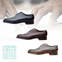 Edward Green Moccasin Plain Leather U Tips Loafers & Slip-ons