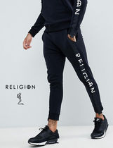 Religion Sweat Street Style Skinny Fit Pants