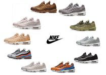 Nike AIR MAX 95 Stripes Street Style Plain Sneakers