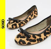 ASOS Leopard Patterns Casual Style Ballet Shoes