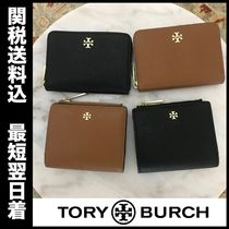 Tory Burch Saffiano Plain Coin Cases