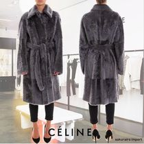 CELINE Plain Medium Coats