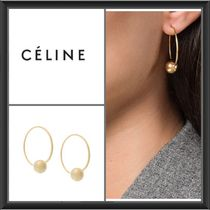 CELINE 22K Gold Earrings & Piercings