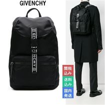 GIVENCHY Nylon Street Style Backpacks