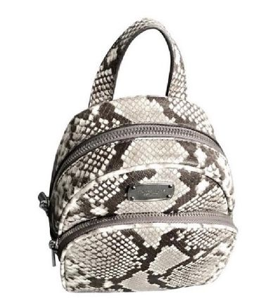 8965d40df new zealand michael kors backpacks street style 2way leather python elegant  style backpacks 3 14ff5 e4a13