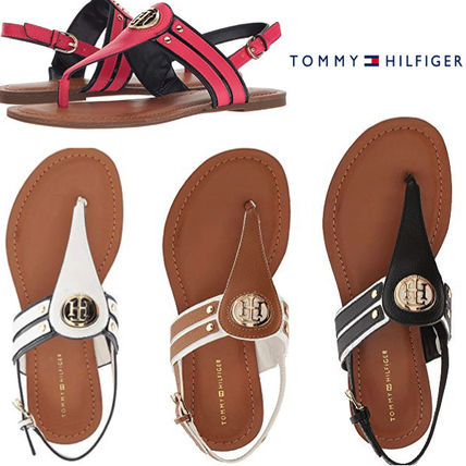 39b70cffee4f Tommy Hilfiger 2018 SS Casual Style Faux Fur Sandals by frederic - BUYMA