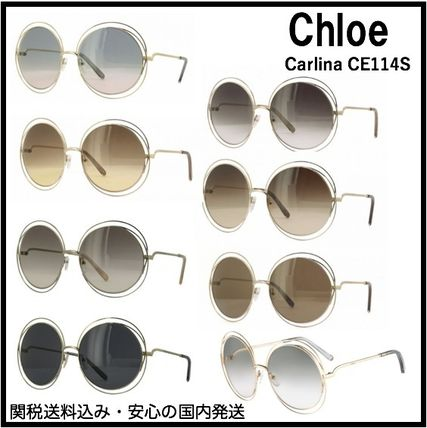 e07ec66519d Chloe Sunglasses Round Oversized Sunglasses 9 Chloe Sunglasses Round  Oversized Sunglasses ...