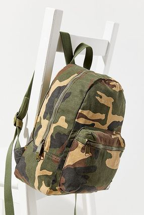 Camouflage Street Style Backpacks