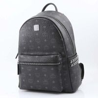 MCM Unisex Leather Backpacks