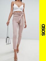 ASOS Stripes Casual Style Skinny Pants
