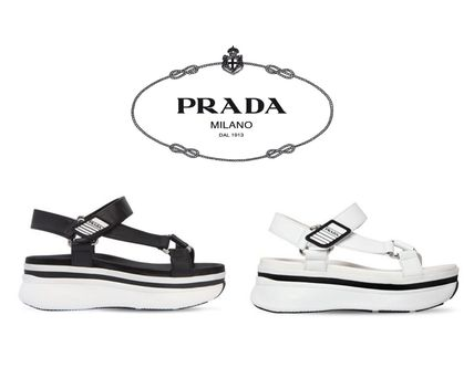 Casual Style Street Style Plain Sport Sandals Flat Sandals