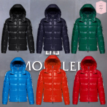 ... MONCLER Down Jackets Short Street Style Plain Down Jackets ...