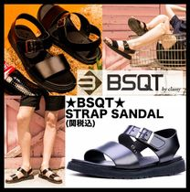 BSQT Casual Style Unisex Street Style Sport Sandals Flat Sandals