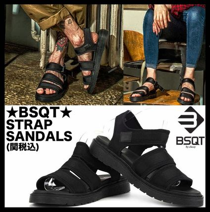 Casual Style Unisex Street Style Sport Sandals Flat Sandals