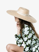 Off-White Straw Hats