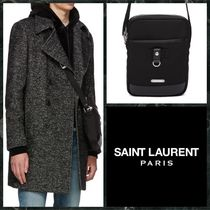 Saint Laurent Unisex Canvas Street Style Plain Messenger & Shoulder Bags