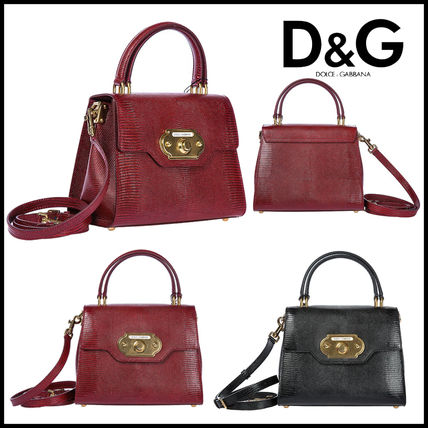 c0ad0a44c293 ... Dolce   Gabbana Handbags Casual Style Calfskin 2WAY Handbags ...