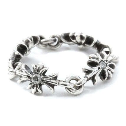044ea4654780 CHROME HEARTS CH PLUS Unisex Street Style Silver Rings by ...