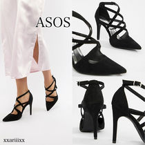 ASOS Plain Pin Heels Home Party Ideas Pointed Toe Pumps & Mules