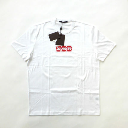 Supreme More T-Shirts Street Style Collaboration T-Shirts 3