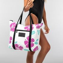 ALOHA COLLECTION Tropical Patterns A4 Plain Totes