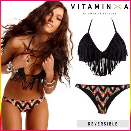 Plain Halter Tribal Bikinis