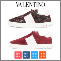 VALENTINO Casual Style Low-Top Sneakers