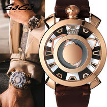 GaGa MILANO Street Style Mechanical Watch Oversized Analog Watches
