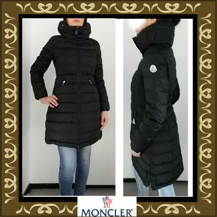 ... MONCLER Down Jackets Plain Long Down Jackets ...