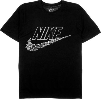 Nike Crew Neck Crew Neck Pullovers Collaboration Plain Crew Neck T-Shirts 9