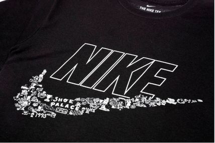 Nike Crew Neck Crew Neck Pullovers Collaboration Plain Crew Neck T-Shirts 11