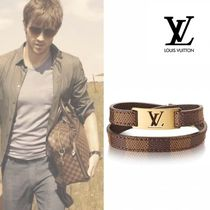 Louis Vuitton Unisex Leather Bracelets