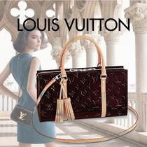 Louis Vuitton Monogram Tassel 3WAY Leather Elegant Style Shoulder Bags