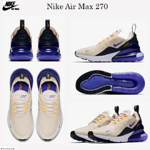 105f5e92d37 Nike AIR MAX 270 Street Style Low-Top Sneakers