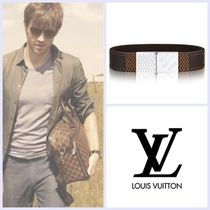 Louis Vuitton Unisex Street Style Leather Bracelets