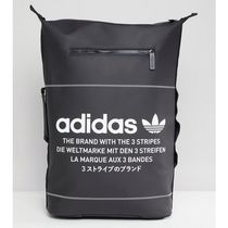 adidas NMD Unisex Faux Fur Street Style A4 Plain Backpacks