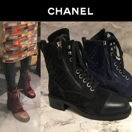 584478144d14 CHANEL 2018-19AW Women s Lace-up Boots  Shop Online in US