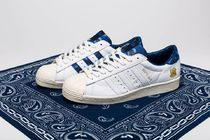 adidas SUPERSTAR Camouflage Unisex Street Style Collaboration Sneakers