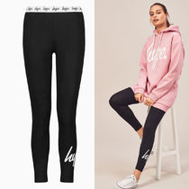 Hype Plain Cotton Leggings Pants