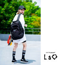 Unisex Street Style Oversized Backpacks