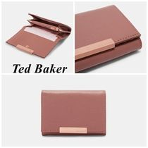 TED BAKER Plain Leather Coin Purses