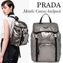 PRADA SAFFIANO LUX PRADA Backpacks
