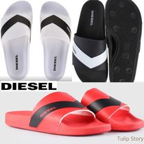 DIESEL Street Style Shower Shoes PVC Clothing Shower Sandals