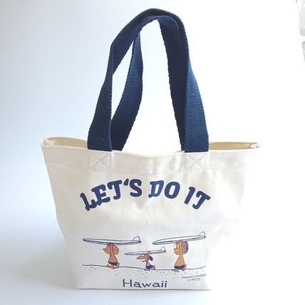 Casual Style Canvas Collaboration Totes