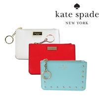 kate spade new york Leather Keychains & Bag Charms